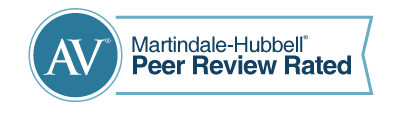 Martindale-Hubbell AV Rated