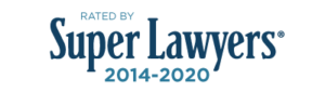 Rated by Super Lawyers 2014-2020